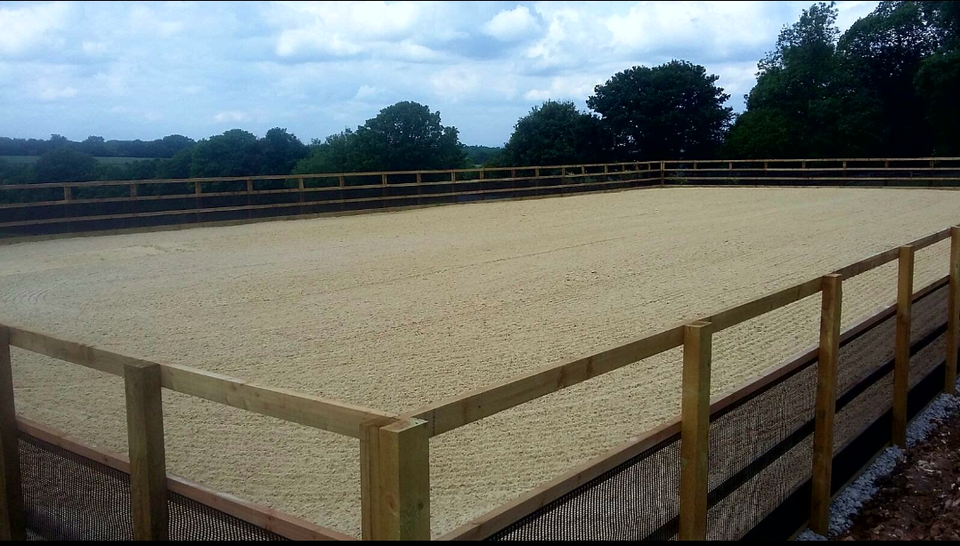 Sand school construction in Kent