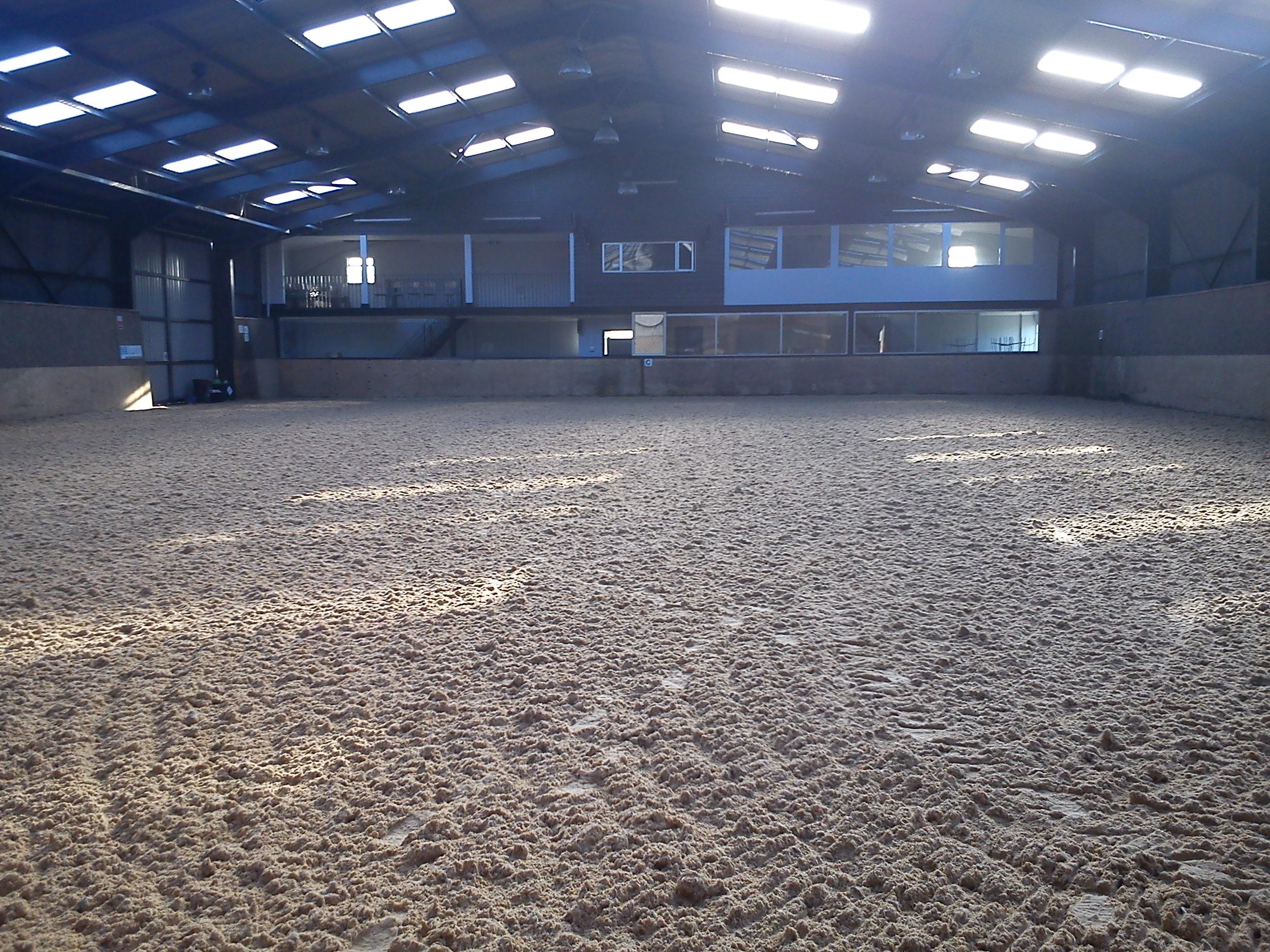 indoor sandschool in Kent