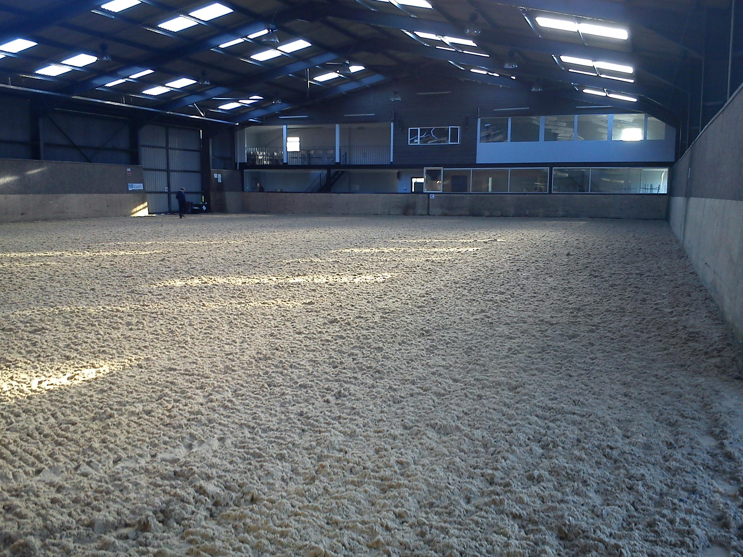 indoor riding arena construciton in Kent