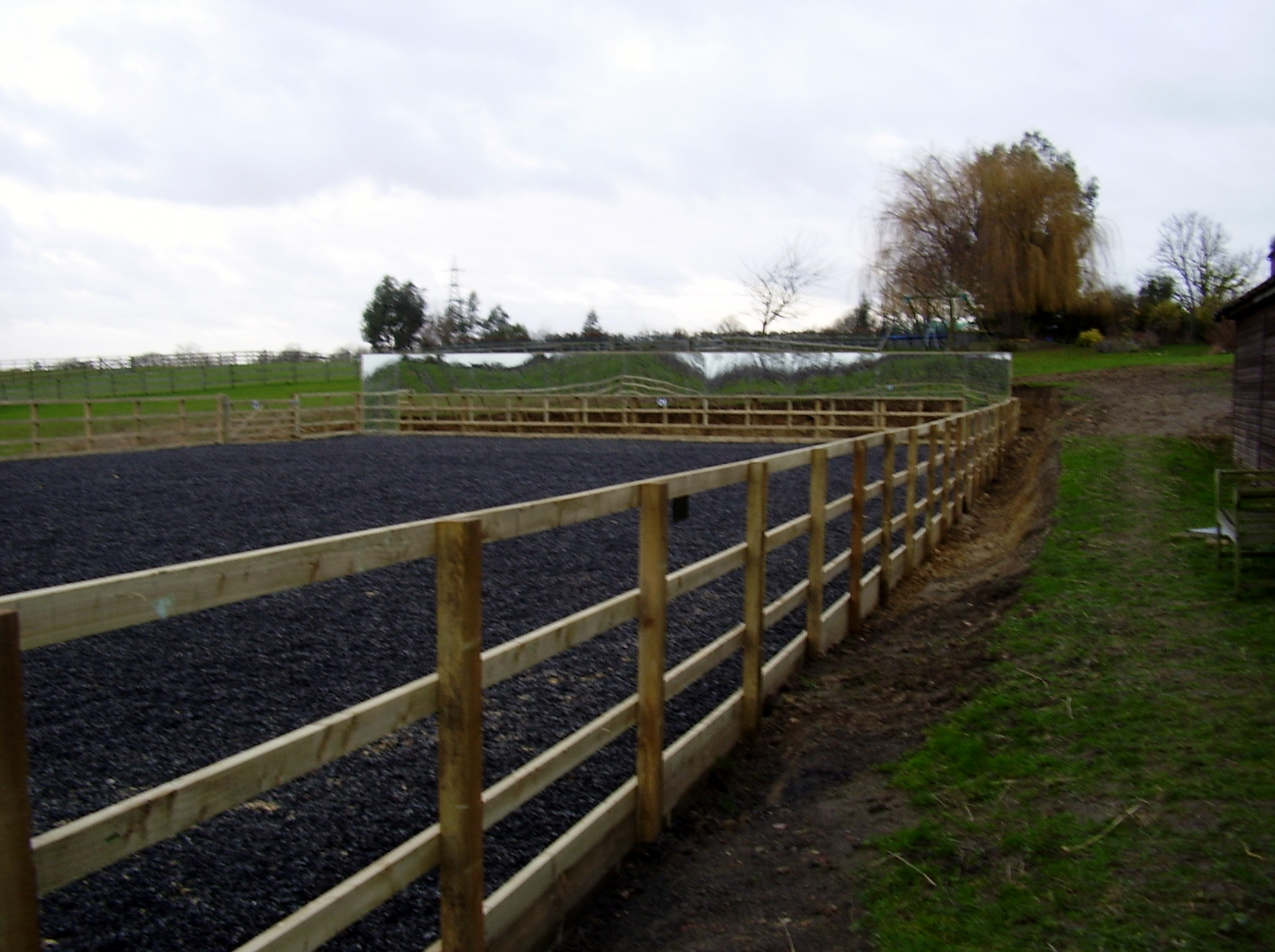 Gallery Riding Arena Construction In Kent