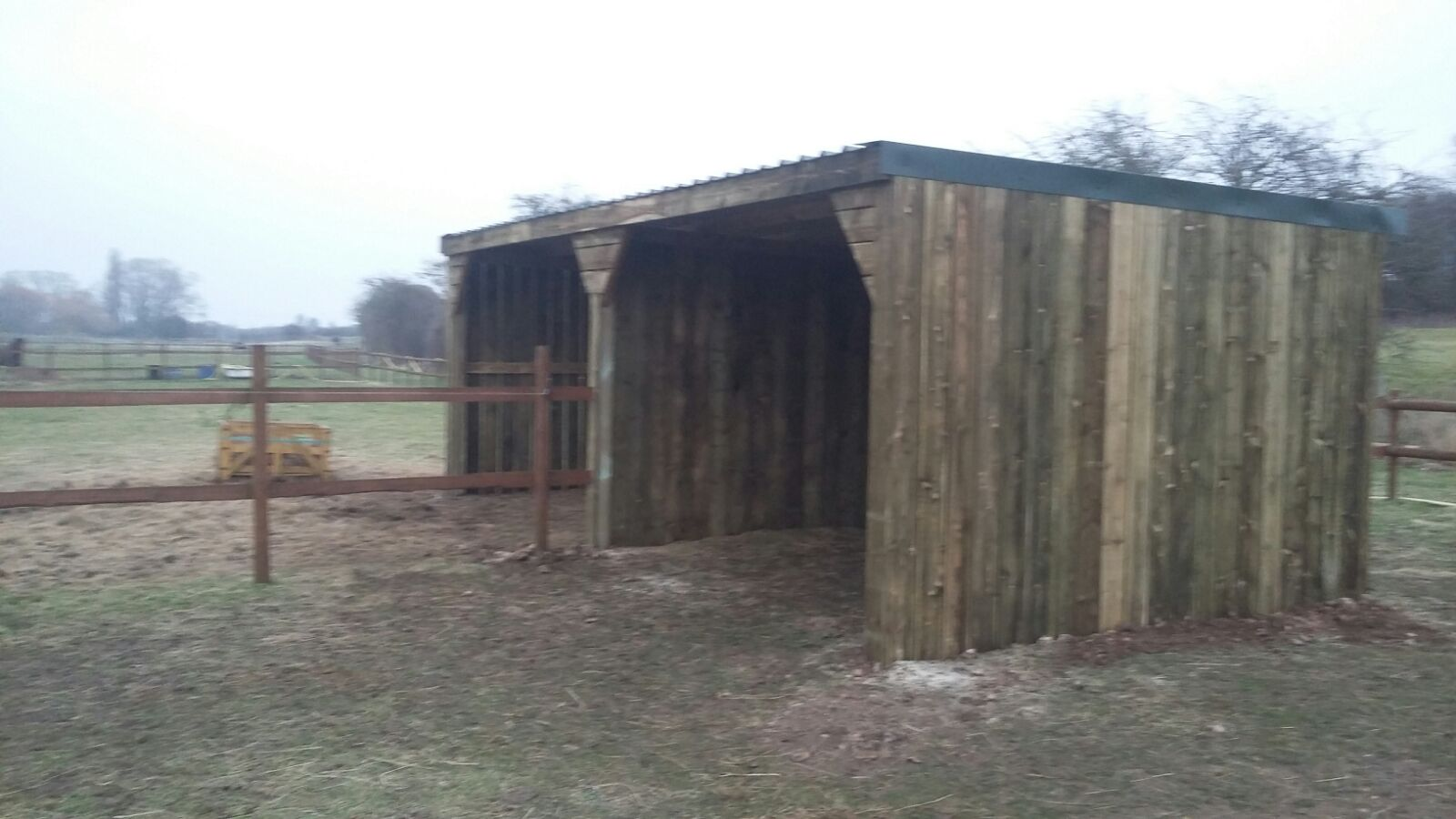 Equestrian Horse Shelter